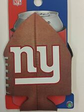 Nfl New York Giants Football Can Cooler, Coozie, Koozie, Coolie, New (Set of 2)