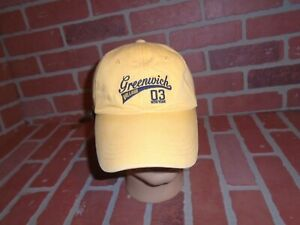 GREENWICH VILLAGE NYC MENS STRAPBACK HAT SIZE S/M IN GOOD CONDITION