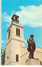 FULTON,MISSOURI-WINSTON CHURCHILL STATUE-WESTMINSTER COLLEGE-(STATUE-189*)