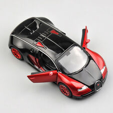 Red 1:32 Bugatti Veyron Alloy Diecast Car Model Collection Kid Vans Toy Gift