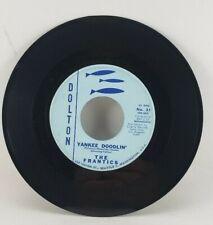 THE FRANTICS Flamenco/ Yankee Doodlin' Dolton Single 45 Seattle  1960 Surf