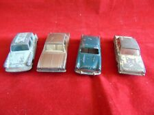 Vintage ford Matchbox Lesney cars  x 4