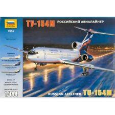 ZVEZDA 7004 civil avion de ligne Tupolev Tu-154M 1/144 scale plastic model kit