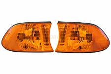 Corner Light Flasher Turn Signal Indicator Oranage Lens For E38 7 Series