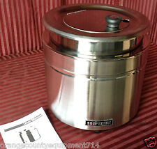 New Soup Kettle 11 Qt Stainless Steel Warmer Atosa 51388 #1649 Chili Cheese 120V