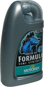 MOTOREX - Huile Moto FORMULA 4T 10W40 1Litre Semi Synthetic