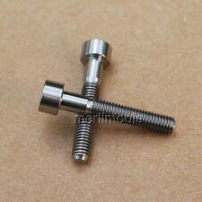 2 Pcs M5 x 30mm Ti Cup Head Six Angle Bolt Titanium Screw 6AL4V Aerospace Grade