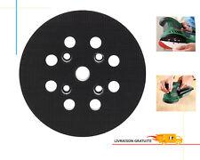 Poweka Lot de 5 coussinets souples pour ponceuse excentrique /à 8 trous en mousse souple 125 mm