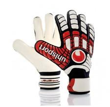 Uhlsport NWT AKKURAT SOFT HN guantes Professional Soccer Goalkeeper Gloves 10
