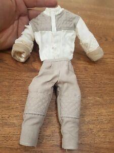 """Star Wars Luke Skywalker's Hoth jacket trousers Hasbro 1/6 scale for 12"""" figure"""