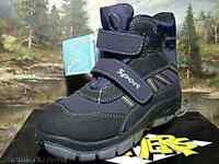 Boomers 565610 Kinderschuhe TEX Stiefel mit Klettverschluss blau Gr.27-29 Neu32