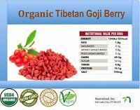 1 LB USDA CERTIFIED ORGANIC TIBETAN GOJI BERRIES AAA++ WOLFBERRY BERRY, FREE SHI