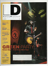 Lighting Dimensions Magazine Green Day Cover January 2005