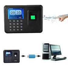 Fingerprint Zeiterfassung Fingerabdruck Scanner wie Stempeluhr Stechuhr schwarz~