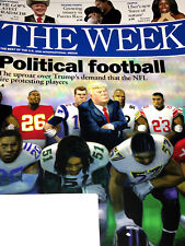 THE WEEK MAGAZINE October 6, 2017 DONALD TRUMP Tom Brady NFL FOOTBALL PROTEST