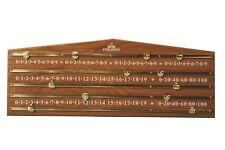 Standard Snooker Scoreboard - 4-Hander - Oak