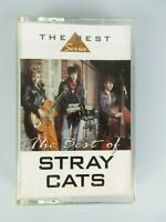 Vintage 1998 Stray Cats The Best Cassette Tape Rock And Roll Rockabilly