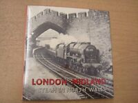 London Midland - Steam in North Wales by Rear W G Book The Cheap Fast Free Post