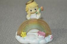 Precious Moments Angel Painting Rainbow Figurine