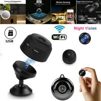 Mini Hidden Spy Camera Wireless Wifi Home Security Night Vision HD 1080P 8G/32GB