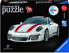 Ravensburger 12528 - 3D Puzzle 108 Pièces - Porsche 911R Miniature Auto,Neuf /