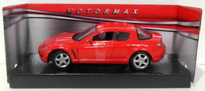 Motor Max 1/24 Scale 73323 Mazda RX-8 Red