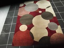 ORIENTEX, 5' x 3', BRAND NEW, THICK, TEXTURED, PURE WOOL RUG...FREE DELIVERY.