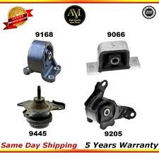 A6597, A4573, A4504, A4579 Engine & Trans Mount Set 03-11 Honda Element AUTO 2.4