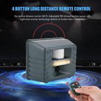 Ultrasonic 4 Alarm Sounds Electronic Pest Repellent for Bird Wild Animal Outdoor
