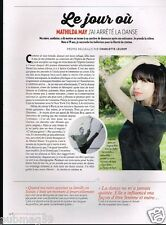 Coupure de Presse Clipping 2015 (1 page) Mathilda May