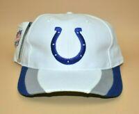 Indianapolis Colts Twins Enterprise Vintage 90's Striped Brim Snapback Cap Hat
