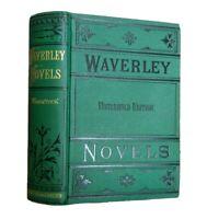 Woodstock The Cavalier Sir Walter Scott Waverley Antique Victorian Classic Decor