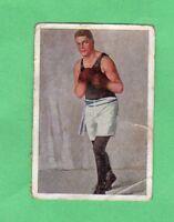 Gene Tunney 1929 SALEM CIGARETTES DIE WELT BILDERN