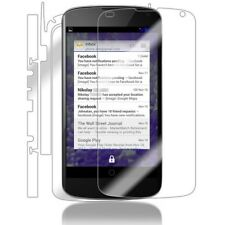 Skinomi Transparent Clear Full Body Protector Film Cover for Google Nexus 4