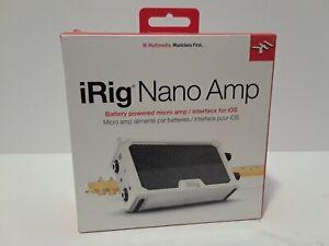 IK Multimedia iRig Nano Amp Mobile Micro Guitar Amp and smartphone interface