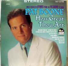 Pat Boone - How Great Thou Art LP Mint- DLP 25 798 Vinyl 1967 Record