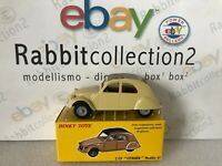 "DIE CAST "" 2 CV CITROEN MODEL 61 "" DEAGOSTINI DINKY TOYS (ATLAS) SCALA 1/43"