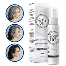 Gray Off Hair Spray Restore Black Hair 50ml