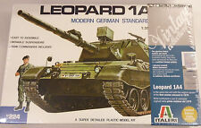 Italeri 1/35 Leopard 1A4 Modern German Tank Ltd Edition Model Kit 224