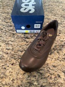 SAS Walk Easy Coffee 6.5 Medium Women's Shoes FREE SHIPPING New In Box Save