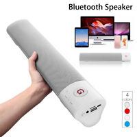 10W Soundbar bluetooth Speaker Wireless Stereo Loud Super Bass Sound Aux USB  ↑