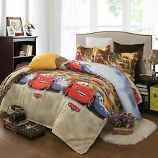 Brand New Double Size Bed Quilt/Doona Cover 3 Pieces Set, Cars! AQ275