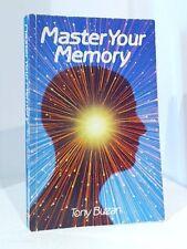 Master Your Memory,Tony Buzan- 9780715390344