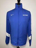 Nike Air Force Falcons NCAA Storm-Fit Blue Lightweight Windbreaker Jacket XL