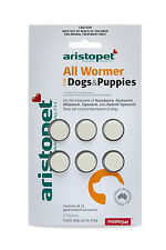 Aristopet All Wormer for Dogs&Puppies 6pk Dog Worming Tablets - Australian Made