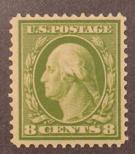 Scott 380 - 8 Cents Washington - OG MH - Well Centered - SCV - $90.00