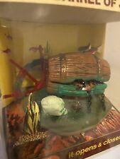 New listing Vintage 1978 Nmib Penn Plax Fish Tank Aerating Action Treasure Opens And Closes