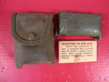 Vietnam Era M1956 Canvas First Aid Kit or Compass Pouch w/Bandage -  Dated 1965
