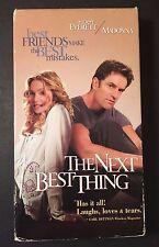 The Next Best Thing (VHS, 2000) Madonna, Rupert Everett, Benjamin Bratt