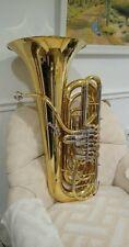 Jupiter BBb 4 Rotor Performance Level Tuba with Case and Stadium StandJTU1140